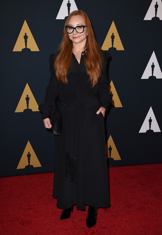 . Tori Amos arrives at the 2016 Governors Awards on Saturday, Nov. 12, 2016 in Los Angeles. Amos will perform Oct. 29 at Playhouse Square. For more information, visit www.playhousesquare.org/events/detail/tori-amos. (Photo by Jordan Strauss/Invision/AP)