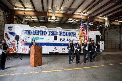 SISD Police Services Surveillance Room Ribbon Cutting