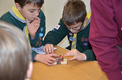 Woking Cubs Science Day 2019