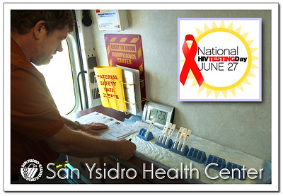 SYHC  Our Place National HIV Testing Day
