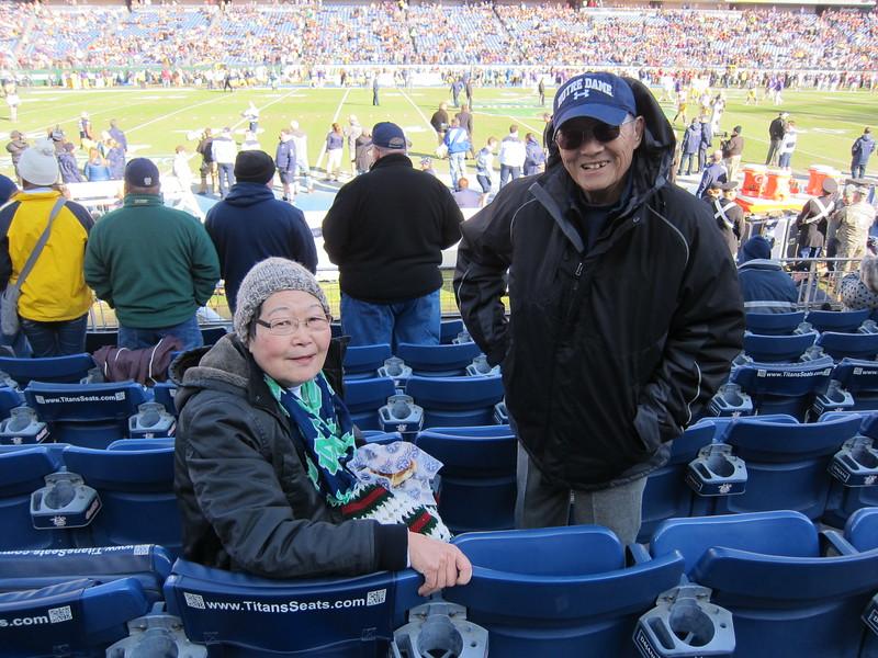 Music City Bowl 2014: ND 31 - LSU 28