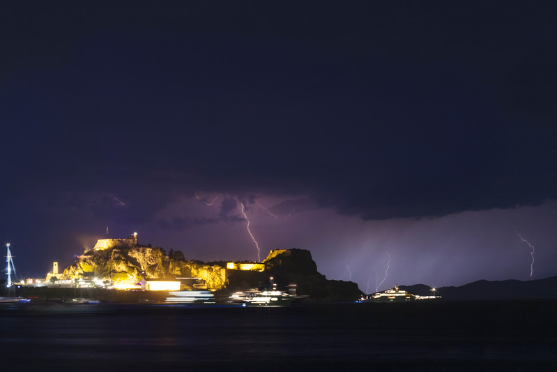 summer storm - old fortress corfu.jpg