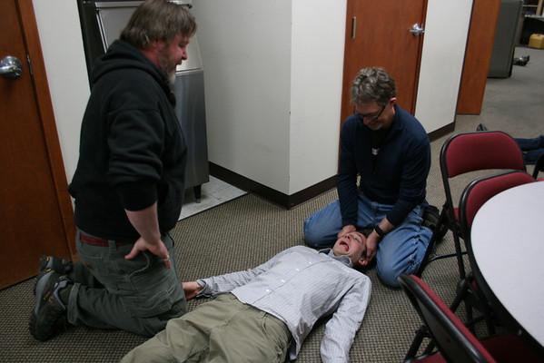 PBO First Aid Training January 2010
