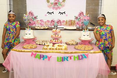 APRIL 21ST, 2019: JAMAYA AND JAMIYA'S 10TH BIRTHDAY BASH