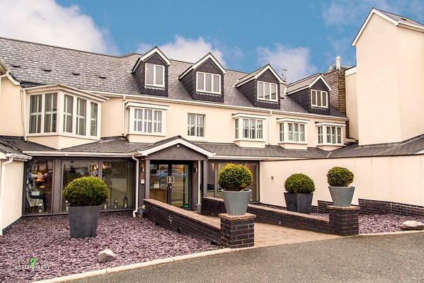 The St Brides Spa Hotel in Saundersfoot.