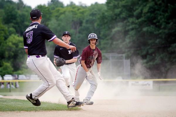 PHS vs. Amherst Baseball Playoff Game-061821