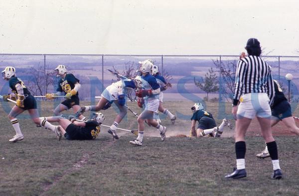 Men's Lacrosse Across the 1980s