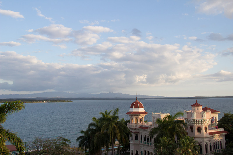 This was a fantastic view from a floor at Hotel Jagua in Cienfuegos.