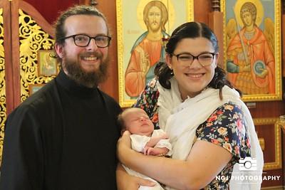Macrina Bower Baptism