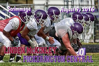2016 Scrimmage Linden McKinley at Pickerington Central (08-09-16)