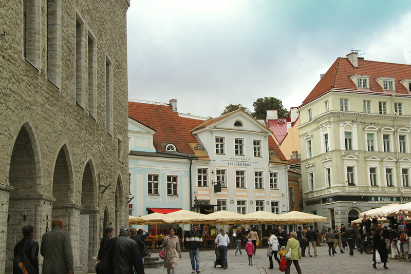 Town Hall Square -Tallinn, Estonia