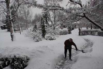 2013 04 19: Snow storm, Duluth