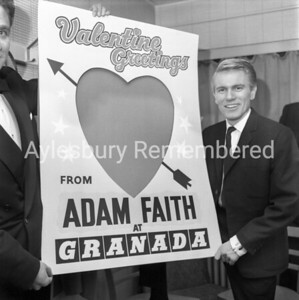 Adam Faith, Feb 7th 1962