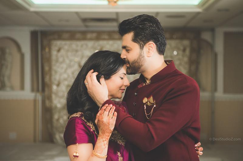 Vaibhav and Nikki Engagement