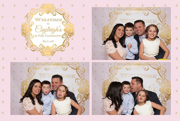 Cayleigh's 1st Holy Communion