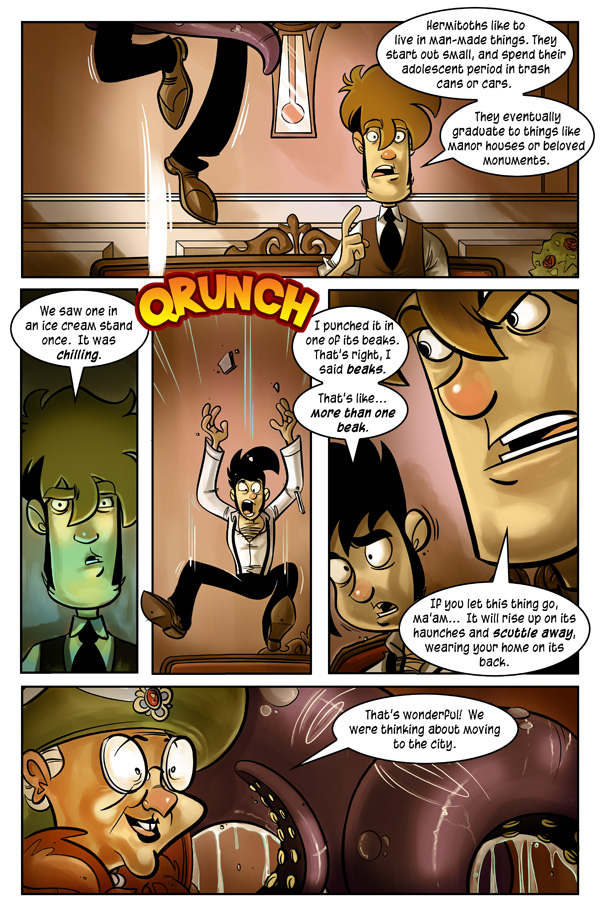 On the Rain-Slick Precipice of Darkness Page 2