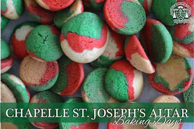 St. Joseph's Altar Baking Days