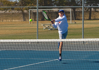 2021-03-30 Dixie HS Tennis vs Canyon View - 3rd Singles