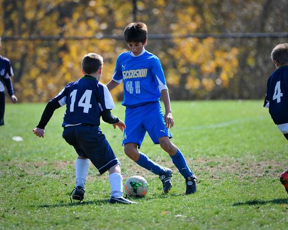 Ascension Soccer League Play Nov 2013