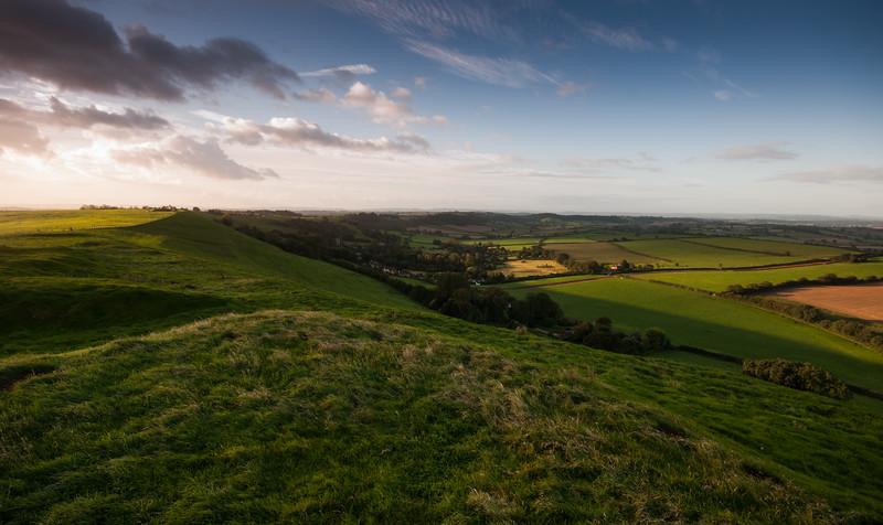 Corton Hill sunrise
