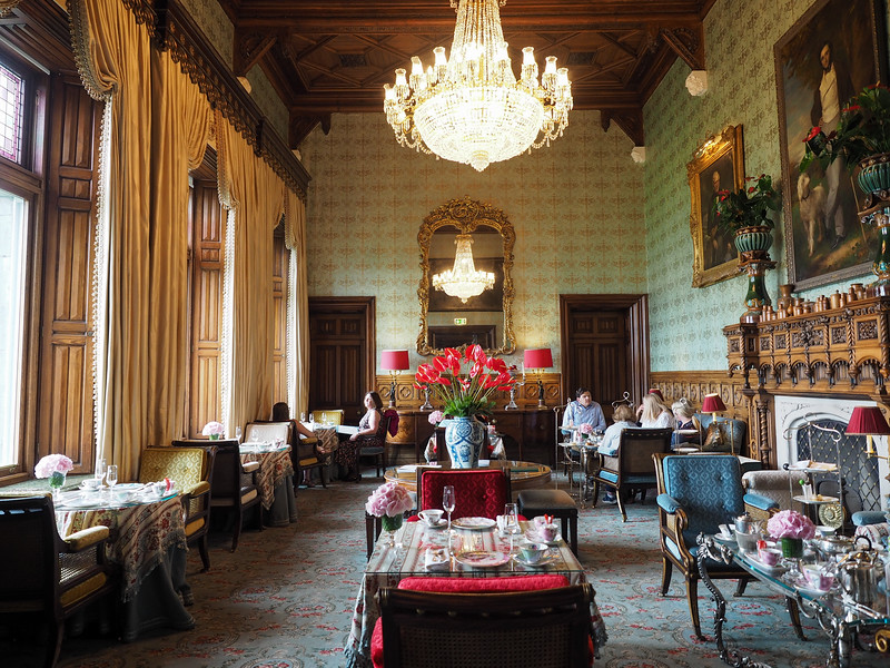 Connaught Room at Ashford Castle in Ireland