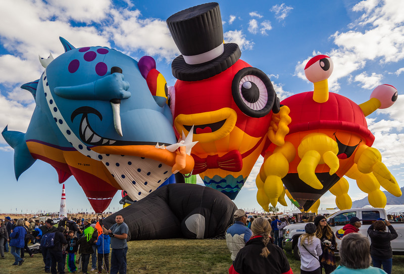 Balloon Fiesta Under the Sea