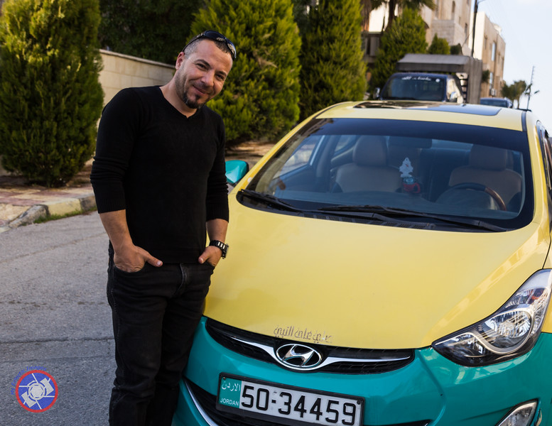 """Ahmed, Our """"Go-To"""" Taxi Driver in Amman, Jordan"""