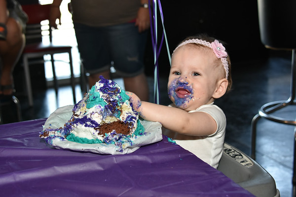 Brynlee First Birthday
