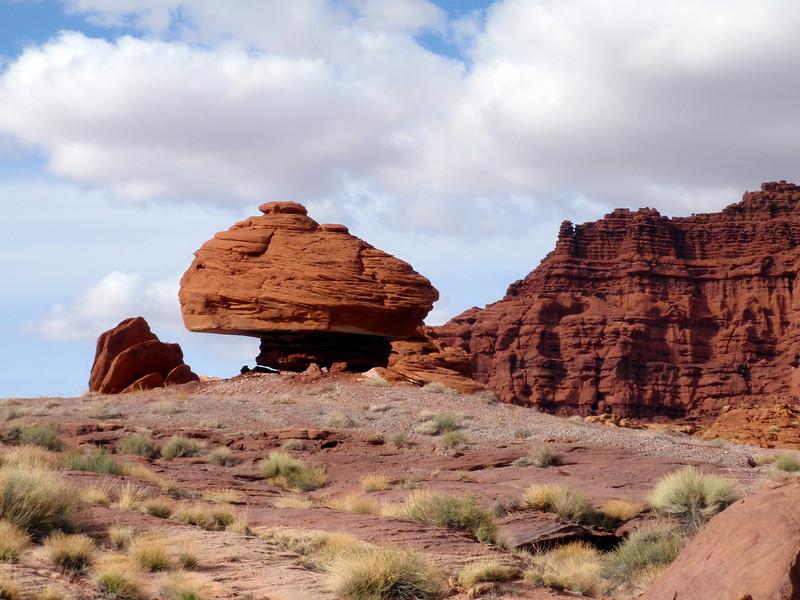 Mushroom Rock Near Moab, UT