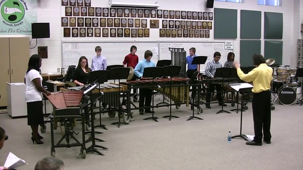 2009-2010 Jazz and Percussion Ensembles