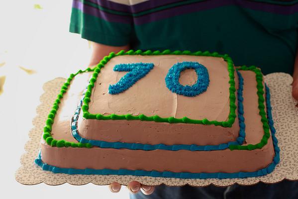 Roger Eberhardt's 70th b-day