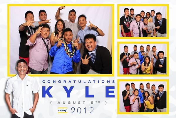 Kyle's Graduation Party (Fusion Portraits)