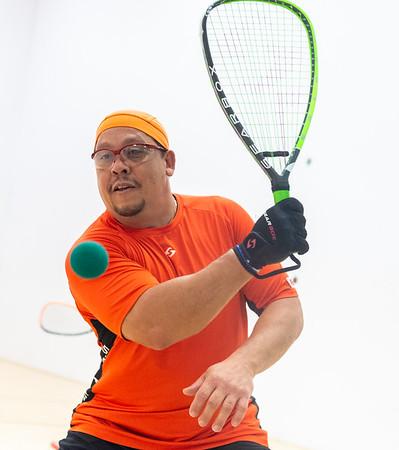 2018-10-27 Mens Singles - Open Qtrs Sebastian Franco over Eric Perez