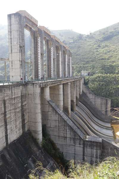 Large dam project for Hydroelectric and flood control
