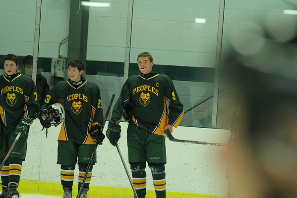 WUHS Boys Hockey Game Opener