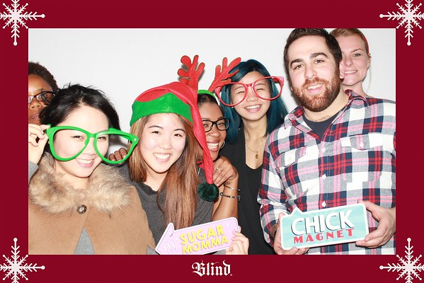 Blind Holiday Party 2015