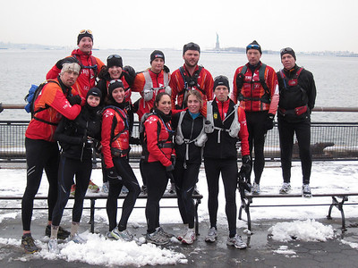 Manhattan circumnavigation 1.8.2011
