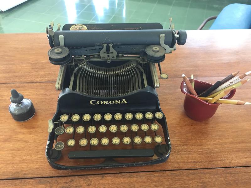 Hemingway's Typewriter at Finca Vigía - Kristin Cass