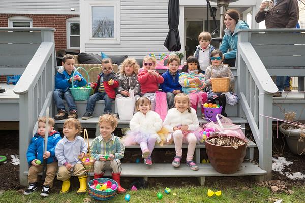 0325 Easter Egg Hunt at Zachary's