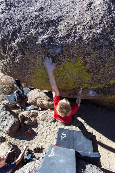 U Mound Bouldering