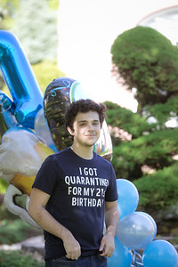 Quarantine 21st Birthday