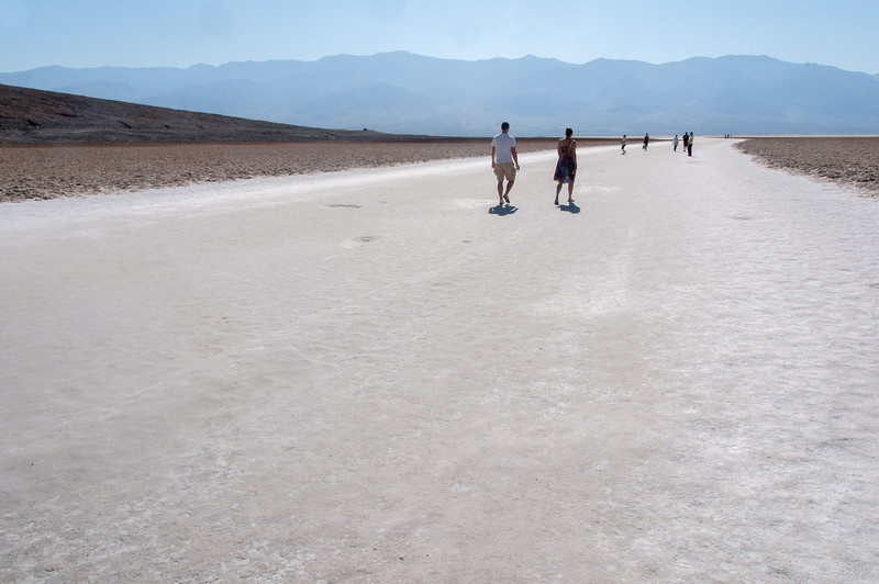 Badwater Basin in Death Valley National Park