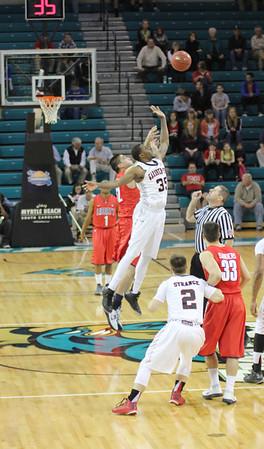 Mens Basketball Semi Finals VS Liberty