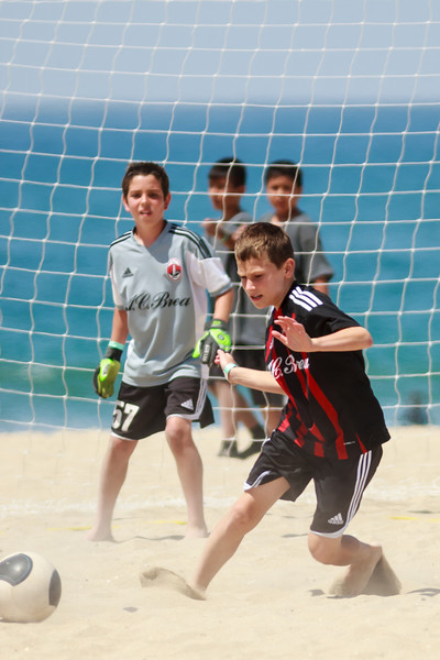 Sand Soccer vs Redlands