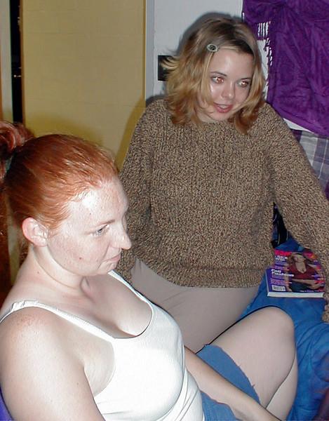 Carolyn & Aerika.