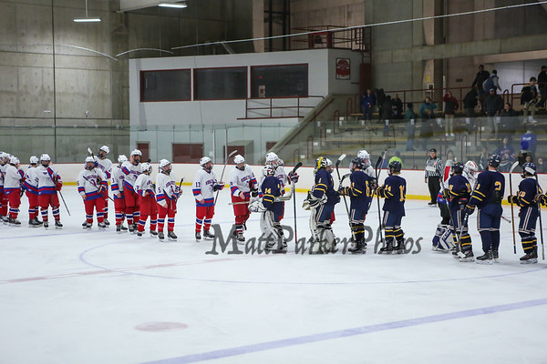 2017-12-13 WHS Boys Hockey vs Bow