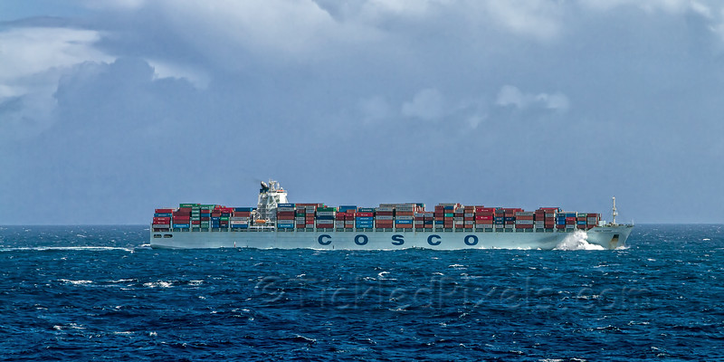 Container Ship 'Cosco Taicang'