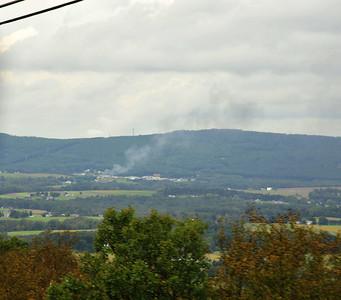 Tractor trailer fire I-80 September 22 2011