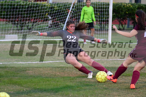 Girls JV Soccer  vs East Ridge 11*26*18