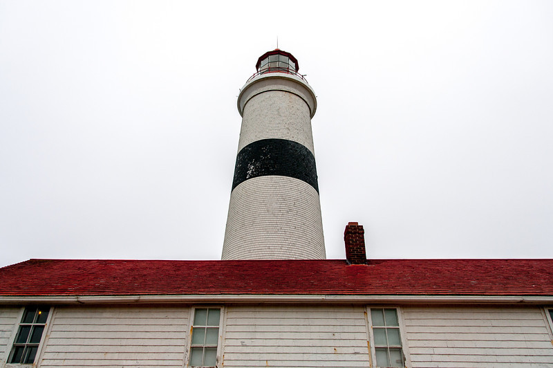Lighthouse at Point Amour in Red Bay, Newfoundland and Labrador, Canada